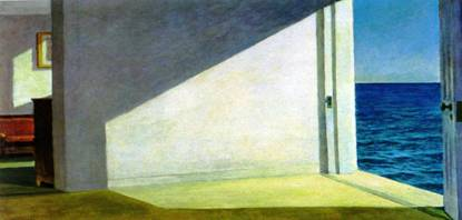 Edward Hopper, Rooms by the Sea (1951)